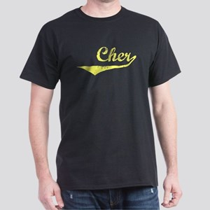 Cher Vintage (Gold) Dark T-Shirt