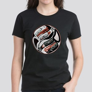 Eagle Raven Yin-Yang Women's Dark T-Shirt