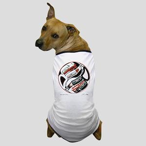 Eagle Raven Yin-Yang Dog T-Shirt