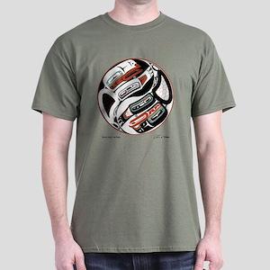 Eagle Raven Yin-Yang Dark T-Shirt