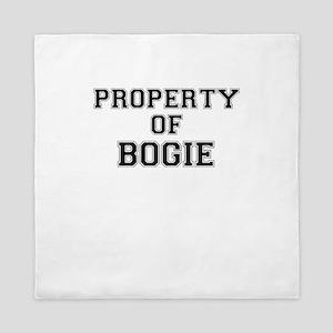 Property of BOGIE Queen Duvet
