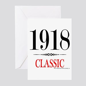 1918 Greeting Cards (Pk of 20)