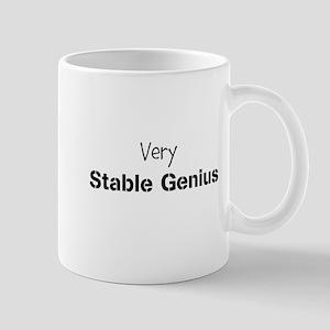 Very Stable Genius 11 oz Ceramic Mug