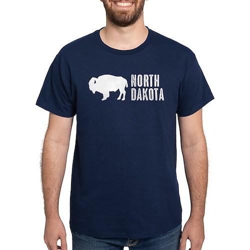 Bison: North Dakota T-Shirt