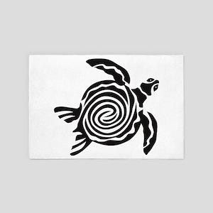 turtle swirl 4' x 6' Rug