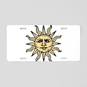 sun star Aluminum License Plate