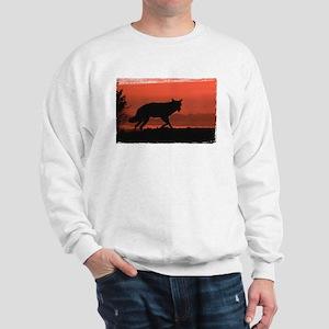 Sunset Wolf Sweatshirt