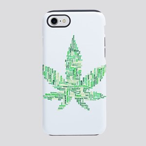 leaf marijuana iPhone 8/7 Tough Case