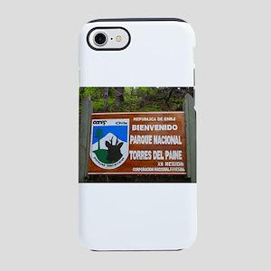 Torres del Paine Sign, Chile iPhone 8/7 Tough Case