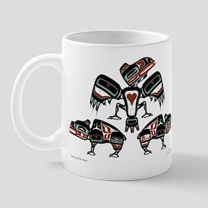Raven & Her Bears Mug