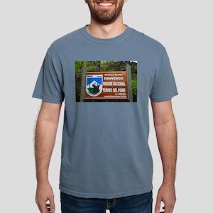 Torres del Paine Sign, Chile T-Shirt