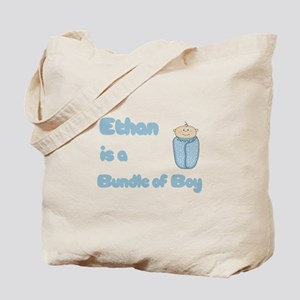 Ethan is a Bundle of Boy Tote Bag