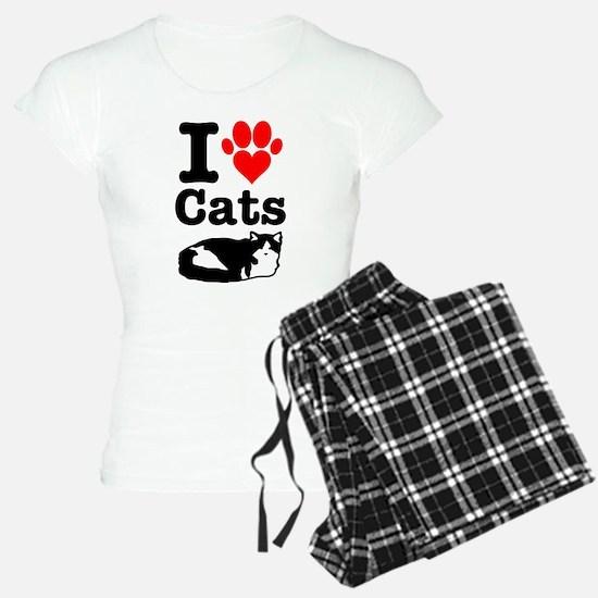 I Heart Cats Pajamas