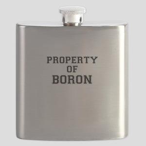 Property of BORON Flask