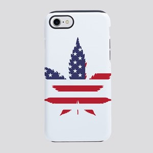 Marijuana USA iPhone 8/7 Tough Case