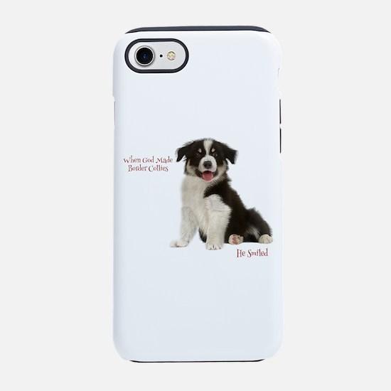 Border Collie Puppy Iphone 8/7 Tough Case