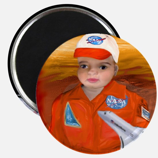 "BabyAviator in Space 2.25"" Magnet (10 pack)"