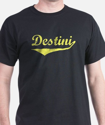 Destini Vintage (Gold) T-Shirt