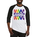 straight but not narrow Baseball Jersey