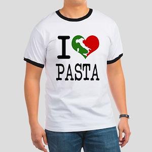 I Love Pasta Italian Ringer T