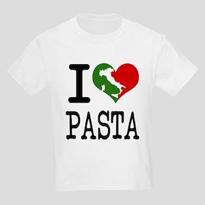 I Love Pasta Italian Kids Light T-Shirt