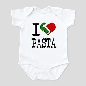 I Love Pasta Italian Infant Bodysuit