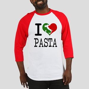 I Love Pasta Italian Baseball Jersey