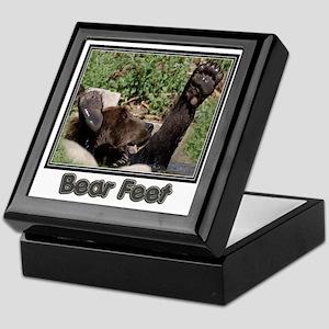 Bear Feet Keepsake Box