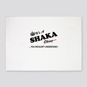 SHAKA thing, you wouldn't understan 5'x7'Area Rug