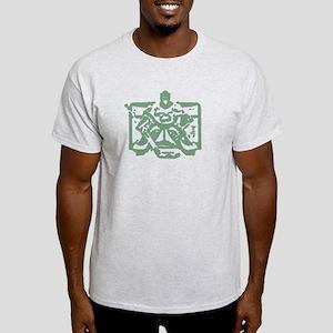 Hockey goalie green Light T-Shirt