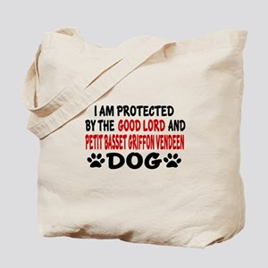 Protected By Petit Bassett Tote Bag