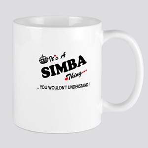 SIMBA thing, you wouldn't understand Mugs