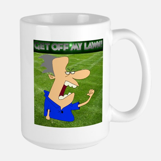 Get Off my Lawn  Large Coffee Mug