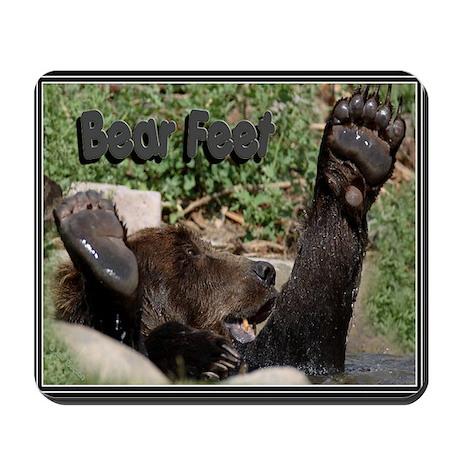 Bear Feet Mousepad