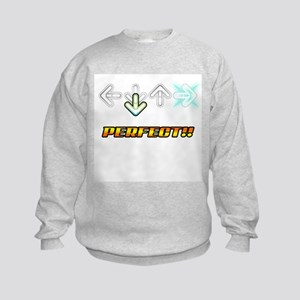 ddr perfect - Kids Sweatshirt