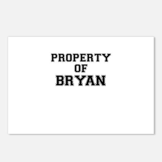 Property of BRYAN Postcards (Package of 8)