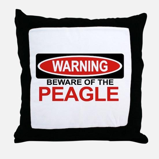 PEAGLE Throw Pillow