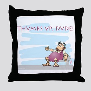 Thumbs up for Brutus Throw Pillow