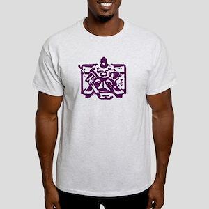 Hockey goalie purple Light T-Shirt