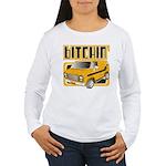 70s Retro Chevy Van Women's Long Sleeve T-Shirt