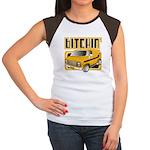 70s Retro Chevy Van Women's Cap Sleeve T-Shirt