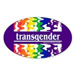 transgender Oval Sticker
