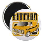 70s Retro Chevy Van Magnet