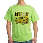 70s Retro Chevy Van Green T-Shirt