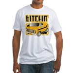 70s Retro Chevy Van Fitted T-Shirt
