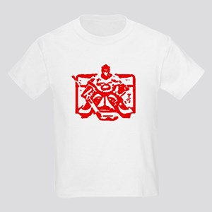 Hockey goalie red Kids Light T-Shirt