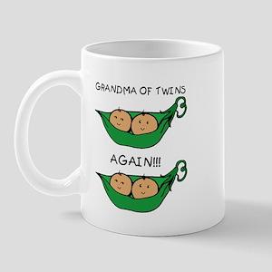 Grandma of Twins Again Mug