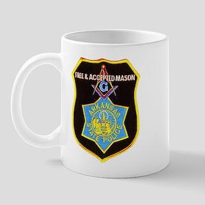 Arkansas Police Mason Mug