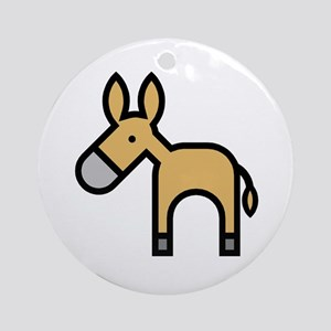 Donkeys and Mules Ornament (Round)