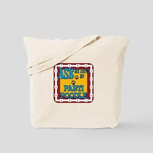 Parti Poodle Tote Bag